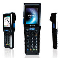 Handheld Wireless Terminals read 1D and 2D barcodes.