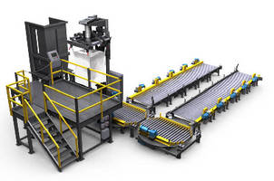 Bulk Bag Filling System features integrated automation.