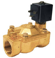 Two-Way Solenoid Valves feature lead-free brass construction.