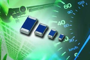 Thin Film Chip Resistors withstand automotive applications.
