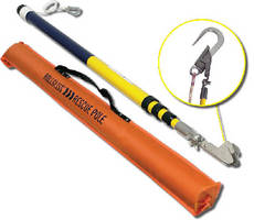 Heavy Duty Rescue Pole supports pick-off rescue operations.