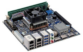 Mini-ITX Motherboard withstands harsh environments.
