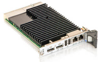CompactPCI Board features Intel Atom E3800 processors.