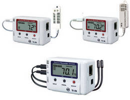 Temperature/Humidity Dataloggers are suited for remote monitoring.