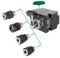 Base Holder  accepts standard CAPTO/PSC adapters.