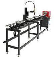 Pipe Cutting Machine features dual-axis CNC controls.