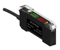 Fiber Amplifier supports IO-Link communication.