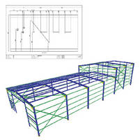 Numerical Control Software optimizes steel fabrication.