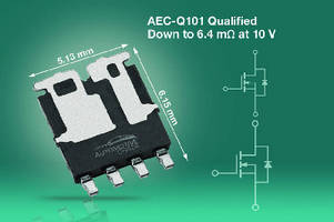 Dual N-Channel Power MOSFETs suit automotive applications.