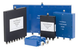 Multi-Octave Power Dividers suit in-building DAS applications.