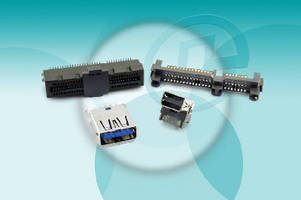 High-Speed I/O Connectors operate from 5-10 Gbps.