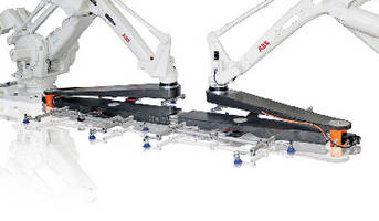 Parts Transfer System loads and unloads presses.