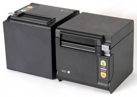 Compact Thermal POS Receipt Printer offers flexible operation.