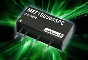 DC-DC Converters suit industrial automation applications.