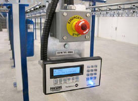 ASRS HMI Device retrieves any item stored on conveyor.