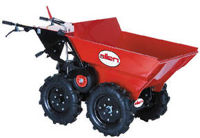 Terrain Buggy transports material and equipment at jobsites.
