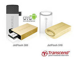 USB Flash Drives foster utilization of On-The-Go storage.