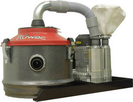 Compact Vacuums eliminate dust from point of source extraction.