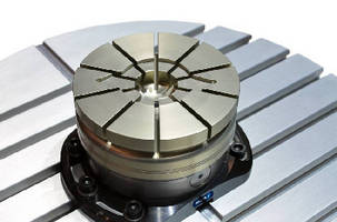 Diaphragm Clamping System handles small parts.