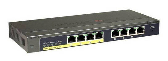 Gigabit Ethernet Switches are PoE enabled.