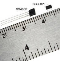 Latching Digital Hall-Effect Sensor ICs offer high sensitivity.