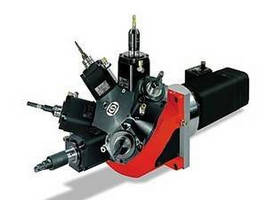 Live Tool Turrets feature drive motor ratings up to 20 hp.
