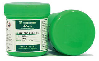Solder Pastes come in lead-free, no-clean formulas.