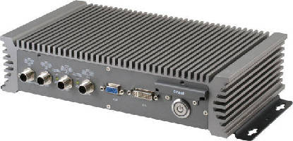 Fanless Box PC supports railway applications.