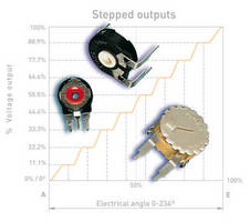 Carbon Potentiometers are optimized for control consistency.