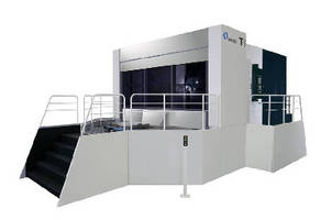 Horizontal Machining Center suits large part applications.