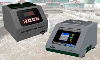 On-Site Analyzers measure oil/grease levels in wastewater.