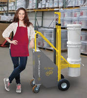 Ergonomic Lift  transports 5-gallon pails.