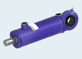 Mill Type Hydraulic Cylinder provides 2 million load cycles.