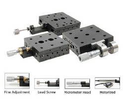 Positioning Stages offer 4 methods of actuation.