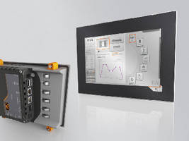 HMI Terminal and Controller feature touchscreen display.