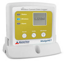 Wireless Datalogger monitors DC current signals.