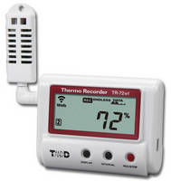 Temperature/Humidity Datalogger integrates Wi-Fi function.