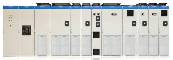 Standardized AC Drives offer range of configuration options.