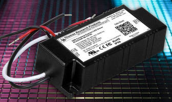 LED Drivers reduce footprint by eliminating dimming options.