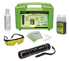 Starter Leak Detection Kit targets oil-based fluid systems.