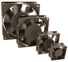 AC and DC Cooling Fans protect electronic components.