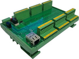 Industrial 96-Channel DIO Controller has LAN (TCP/IP) interface.