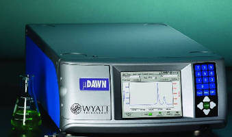 SEC-MALS Detector works with UHPLC systems.
