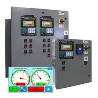 Touchscreen Controller monitors dust collection equipment.