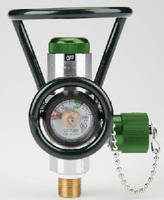 Oxygen Valve integrates pressure regulator.