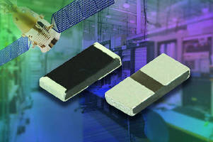 Thick Film Chip Resistors suit high-power RF applications.