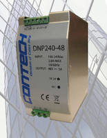 AC/DC Power Supplies deliver 240 W regulated output power.