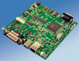 Interface Board controls RS-232 and RS-485 Modbus RTU devices.
