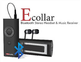 Bluetooth Headset delivers clear digital stereo output.