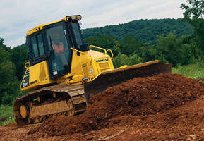 Crawler Dozer incorporates intelligent machine control.